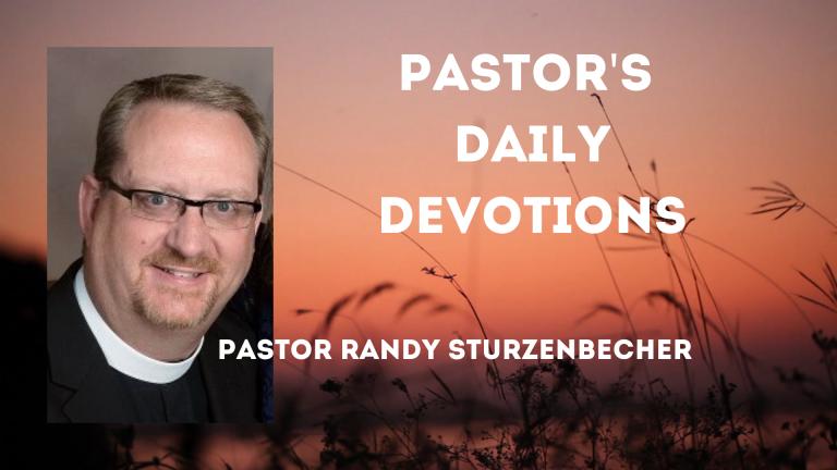 Pastor Randy Sturzenbecher's Video Series (1)