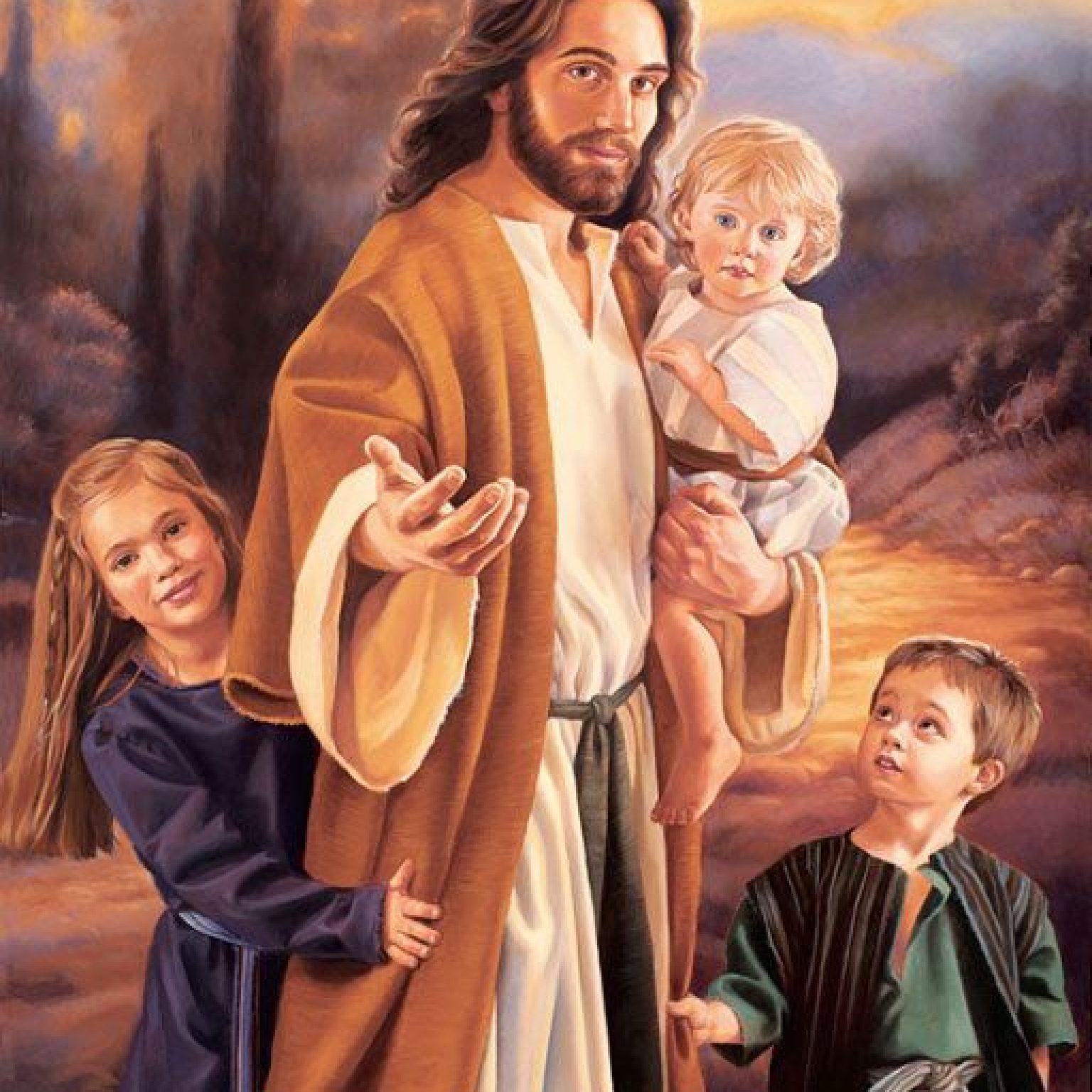 jesus and children2