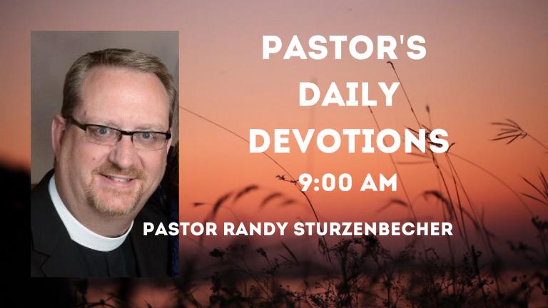 Pastor Randy Sturzenbecher's Video Series (3)